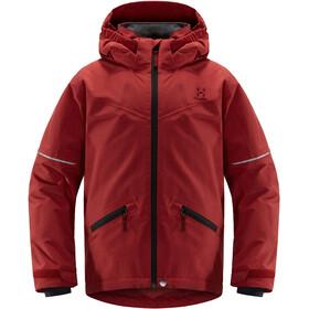 Haglöfs Niva Insulated Jacket Ungdomar Brick Red